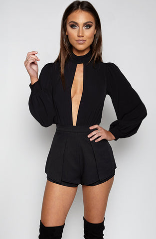 Ice Cube Leotard - Black
