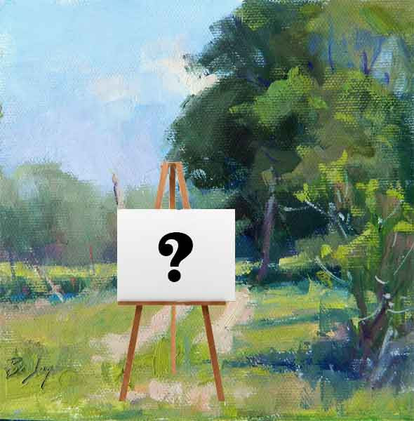 4 Questions Artists Should Ask Before They Start Painting