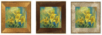 "Daffodils still life painting collage with music ""Among the Daffodils"" giclee print"