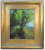 Aspen trees oil landscape painting for sale