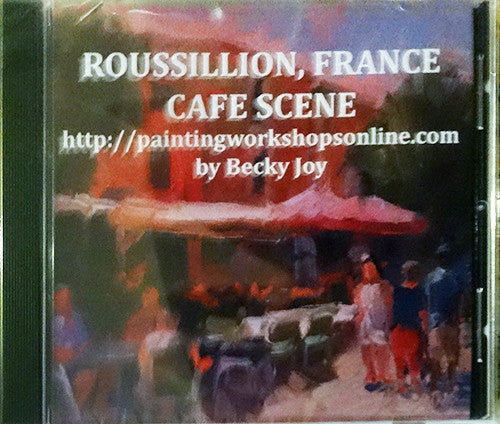 Roussillon France Cafe Workshop DVD