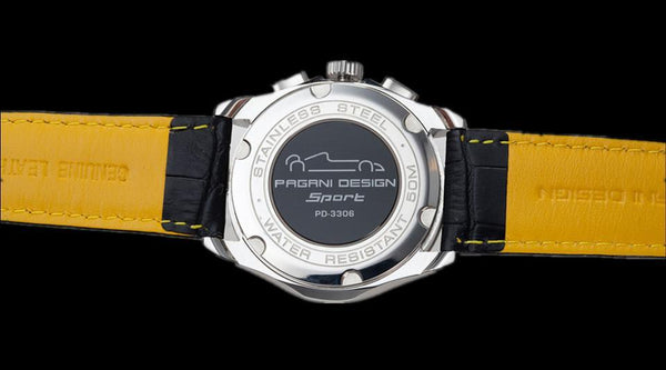 Pagani Design Men's Speedometer Watch