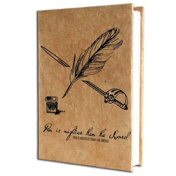 Monk Paper Camel Lokta Quotation Journal