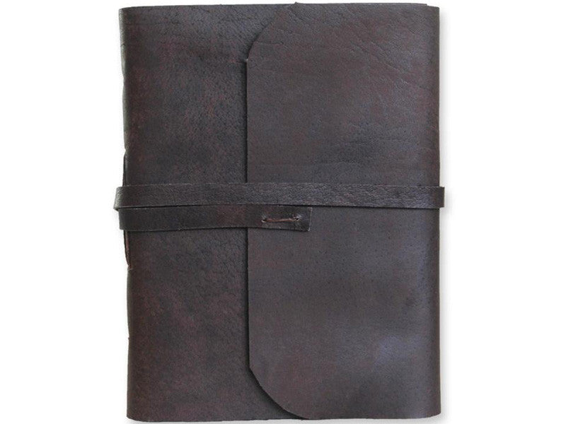 Monk Paper Buffalo Leather Large Lokta Journal with Box