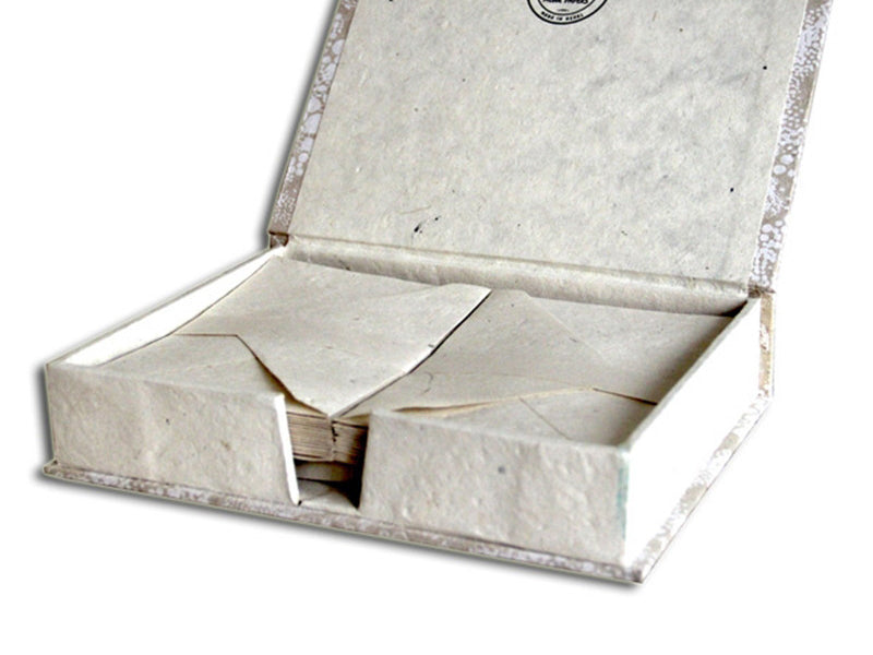 Monk Paper Natural Lokta Stationery Box Set