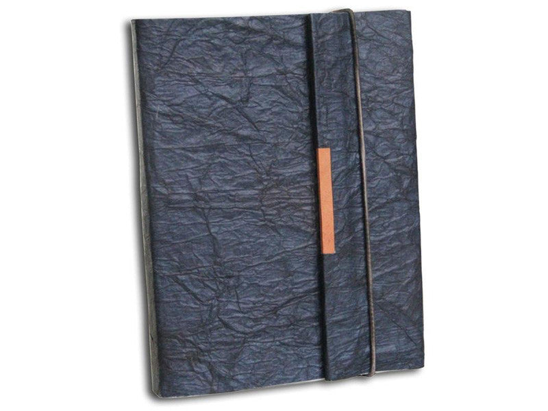 Monk Paper Butter Black Lokta Safari Journal