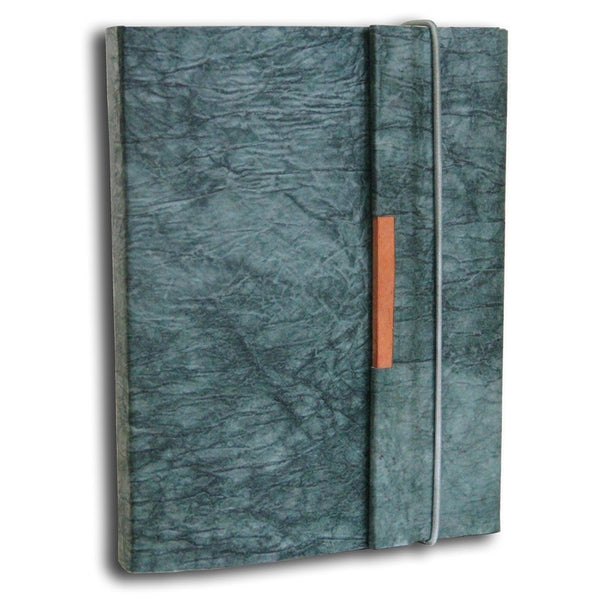 Monk Paper Butter Forest Green Lokta Safari Journal