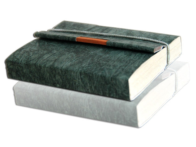 Monk Paper Butter Forest Green Lokta Trekker Journal