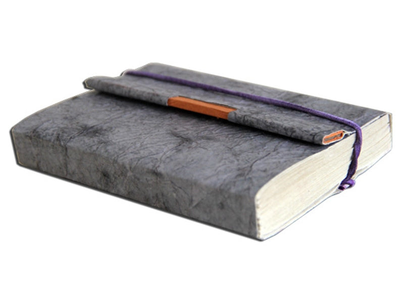 Monk Paper Butter Pewter Lokta Trekker Journal