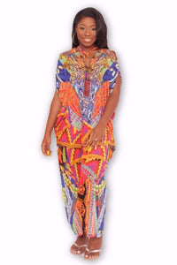 FIRE Maxi Kaftan Dress