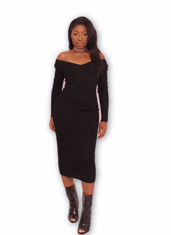TRACY Dress in Black