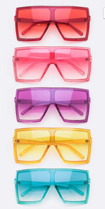 TRENDSETTER Oversized Square Sunglasses