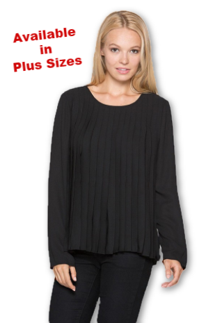 Claire Pleated Top
