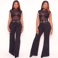 BEVERLEY Pants in BLACK