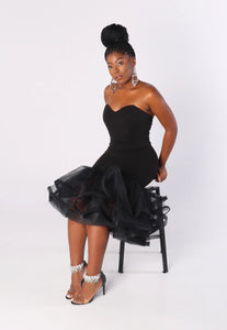TULLE Bottom Fitted Dress