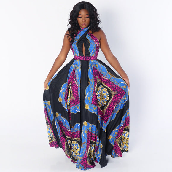 NUBIA Maxi Dress in PURPLE
