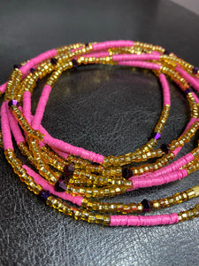 PINKA Waist Beads (with Screw Clasp)