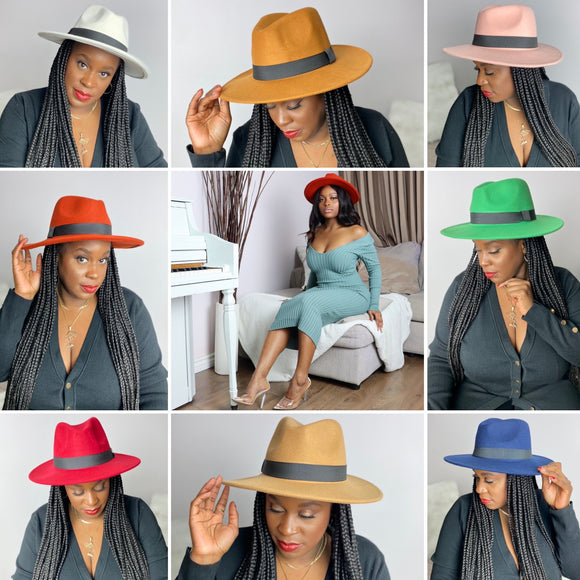 ICONIC Unisex Fedora (Buy 2 for 80$)