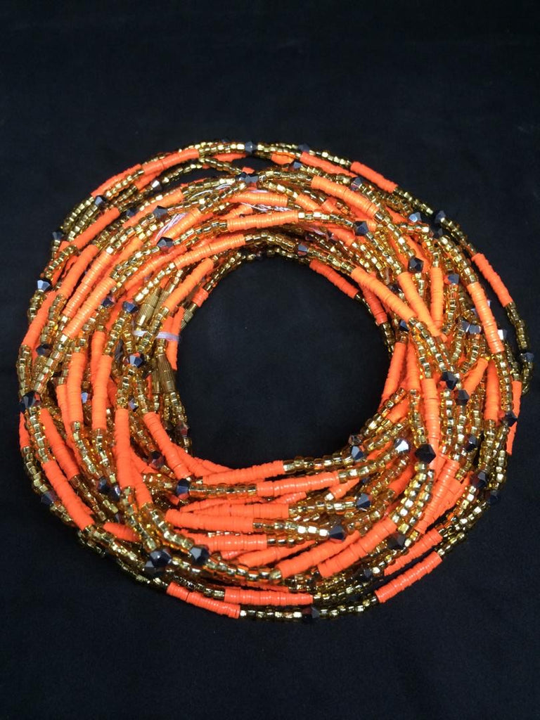 Morowa Glass Waist Beads (with Screw Clasp)