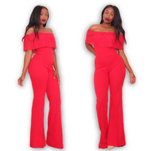 LACEY Jumpsuit RED