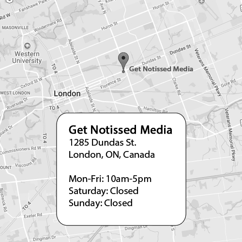 Get Notissed Media Map