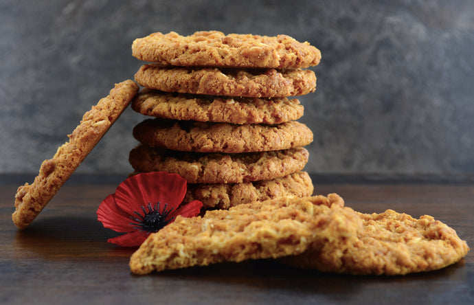 Lemon Myrtle Anzac Biscuits Recipe
