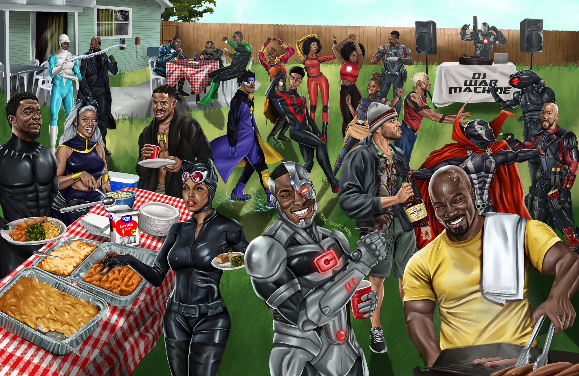 'A Super Black Cookout' Poster