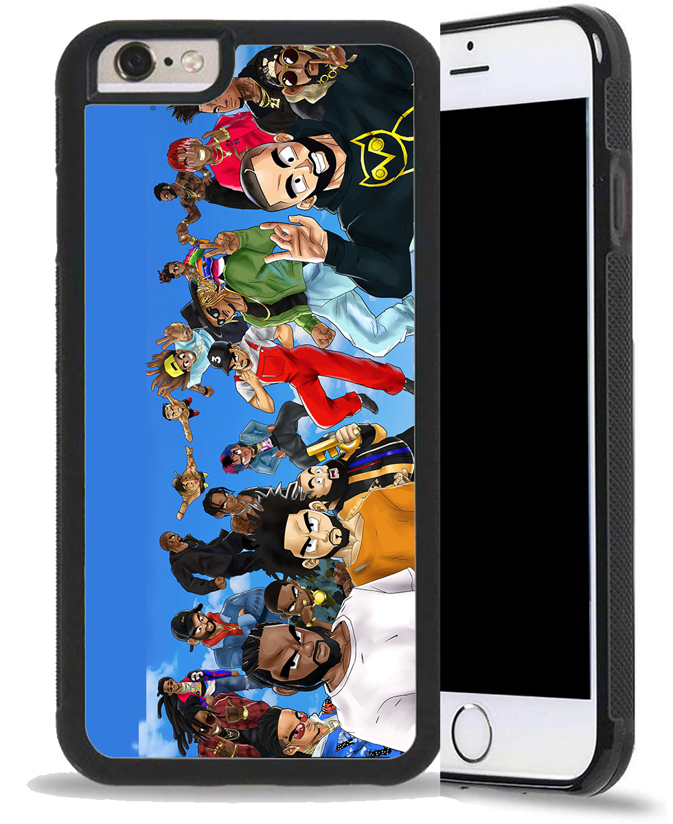 Dragon Ball Z x Top Rappers | Phone Case