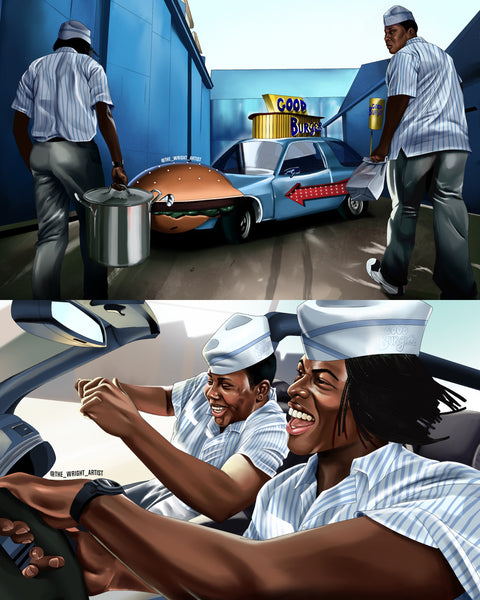 'Good Burger' Canvas
