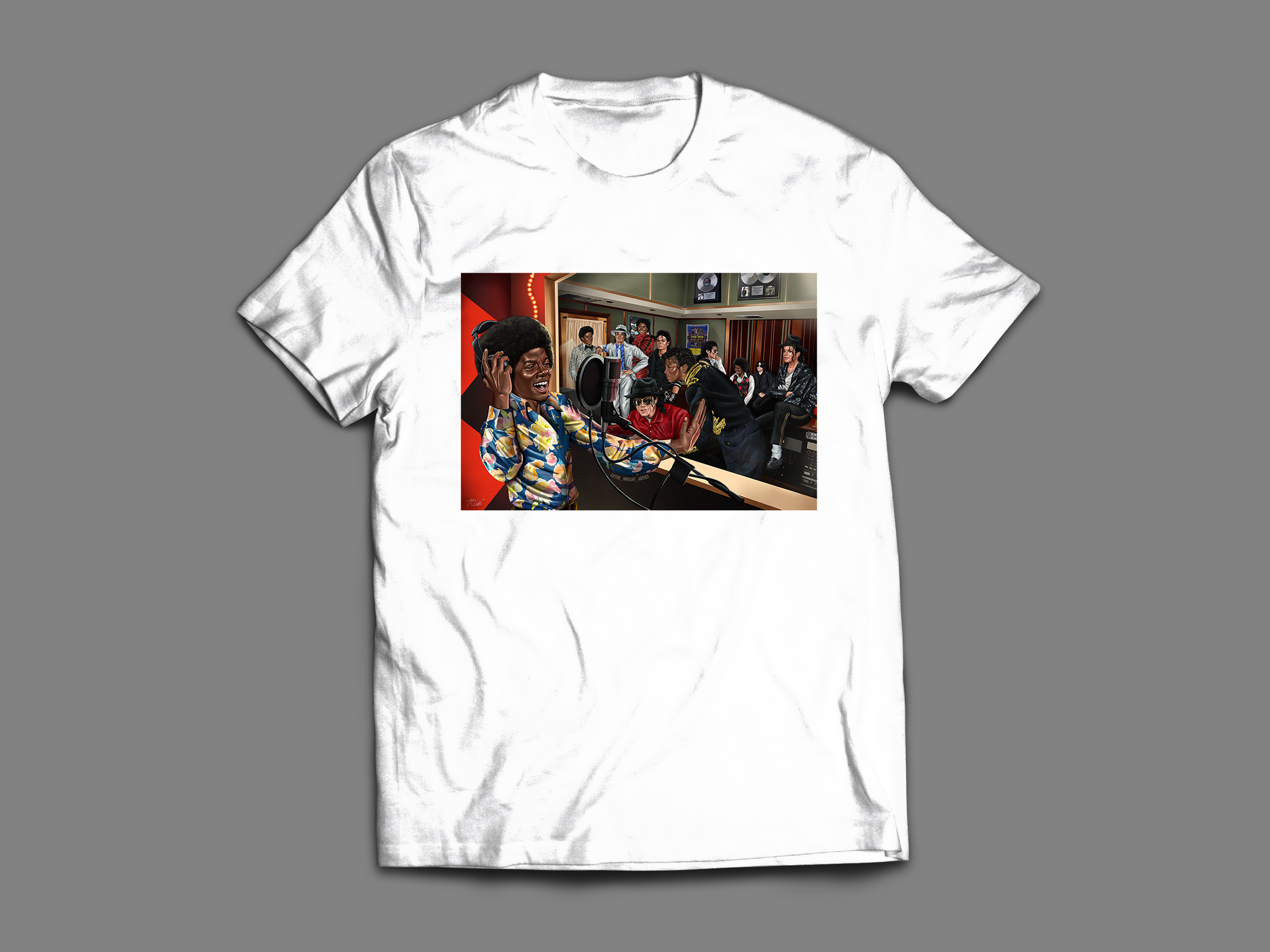 'MJ Studio Session' T-Shirt