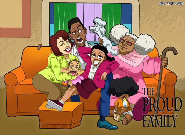 Proud Family *Boondocks