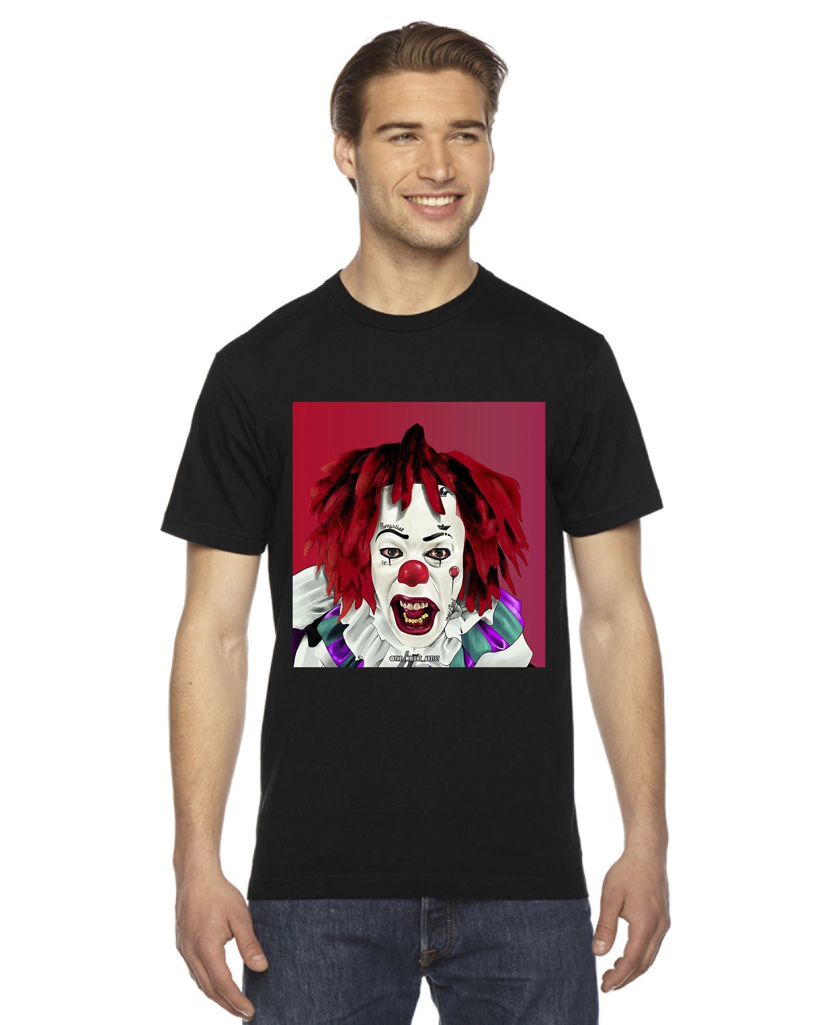 Pennywise T-Shirt  (Black)