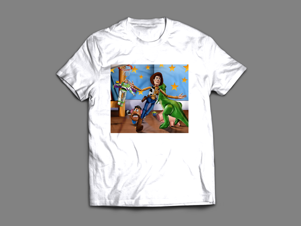 'Buzz & Woody: The Lob' T-Shirt