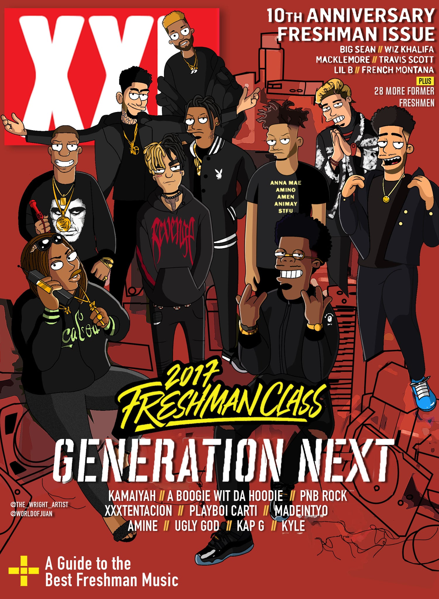 XXL 2017 x The Simpsons (Actual Color)