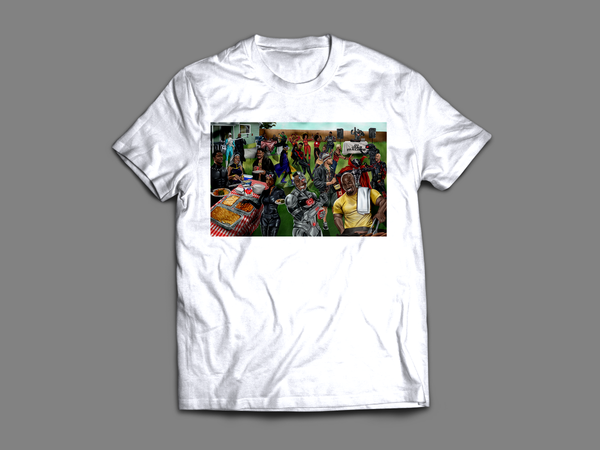 'A Super Black Cookout' T-Shirt