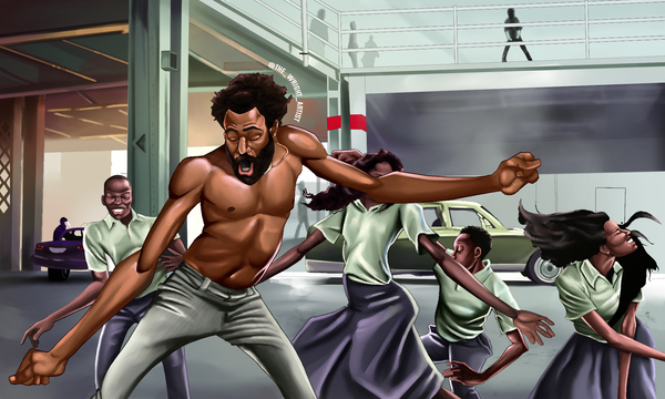 This Is America Canvas