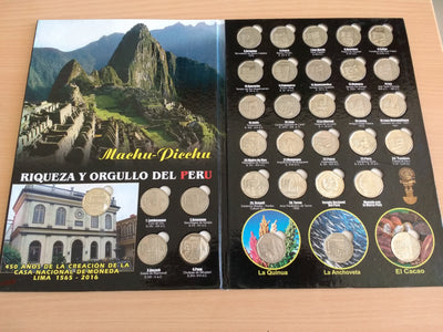 Peruvian collection coins