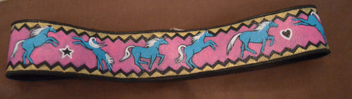 Hand Painted Leather Belt