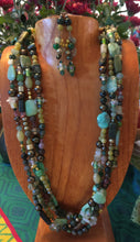 Luscious Green Necklace and Earrings