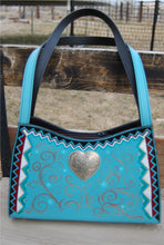 """Painted Love"" Hand Painted Purse"