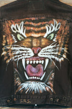 Tiger Painted Levi Jacket