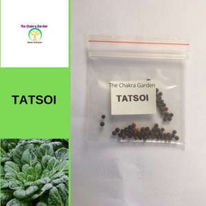 Tatsoi-50 seeds-Vegetables-Heart Chakra