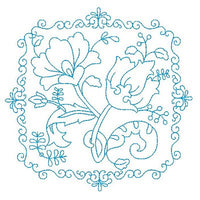 Les Fleurs Belle Biazze Quilt Blocks - 1 - Embroidery Tree