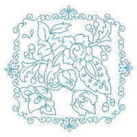 Les Fleurs Belle Biazze Quilt Blocks - 2 - Embroidery Tree
