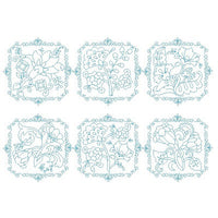 Les Fleurs Belle Biazze Quilt Blocks - Set 2 - Embroidery Tree  - 1