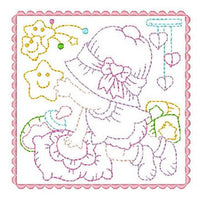 Sunbonnet Baby Blocks - 2 - Embroidery Tree