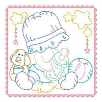 Sunbonnet Baby Blocks - 4 - Embroidery Tree