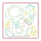 Sunbonnet Baby Blocks - 6 - Embroidery Tree
