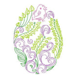 Easter egg machine embroidery design byrosiedayembroidery.com