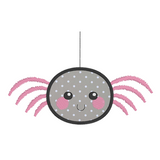 Kawaii spider applique machine embroidery design by rosiedayembroidery.com